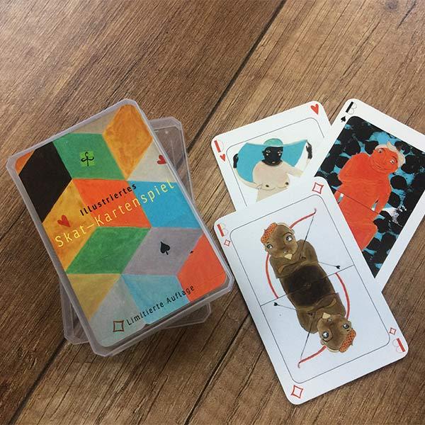 Skat–Karten Spiel