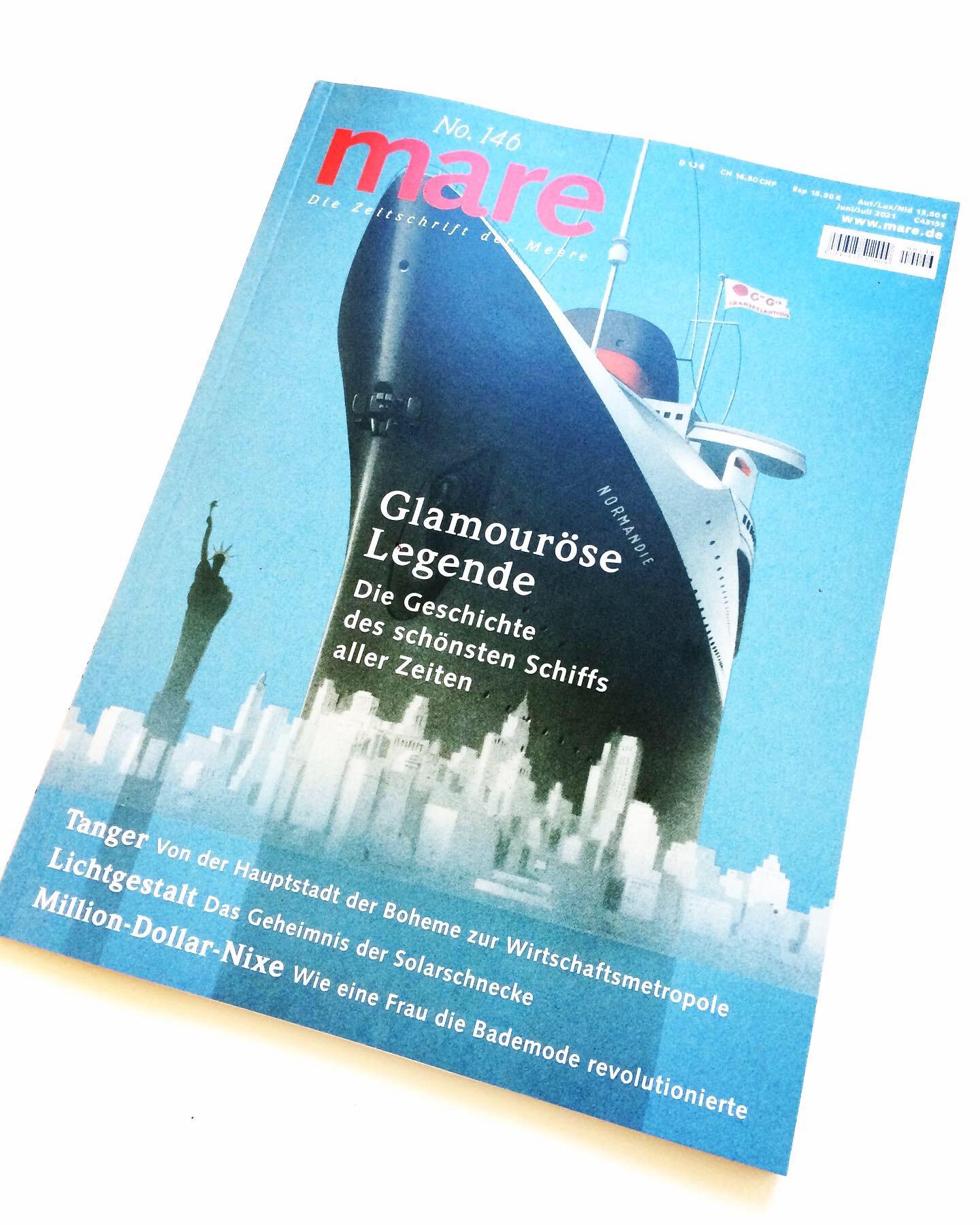 Illustration für Magazin mare Meeresrauschen